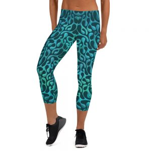 Mint Matista Capri Leggings