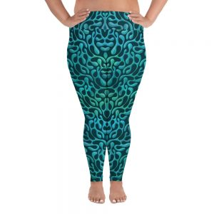 Mint Matista Plus Size Leggings