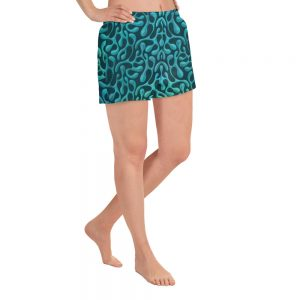Mint matista Women's Athletic Shorts