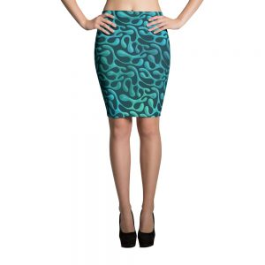 Mint Matita Pencil Skirt