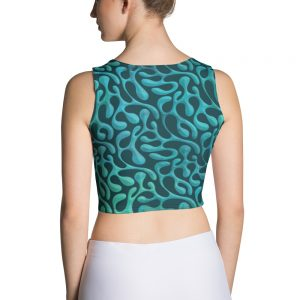 Mint Matista Crop Top