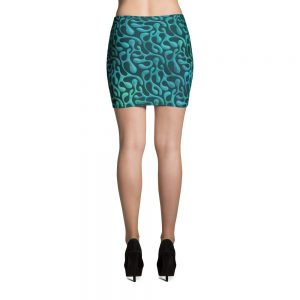 Mint Matista Mini Skirt