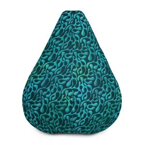 Mint Matista Bean Bag Chair w/ filling
