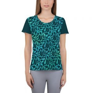 Mint Matista Women's Athletic T-shirt