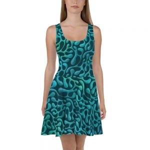 Mint Matista Skater Dress