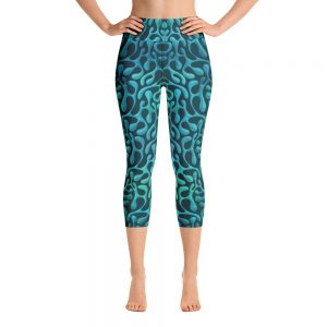 Mint Matista Yoga Capri Leggings