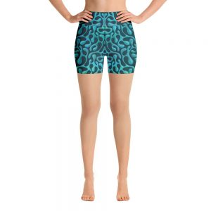 Mint Matista Yoga Shorts
