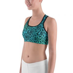 Mint Matista Sports Bra