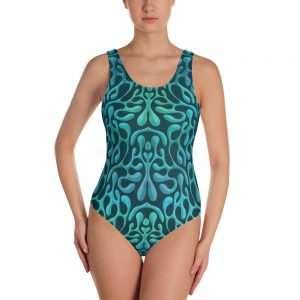 Mint Matista One-Piece Swimsuit
