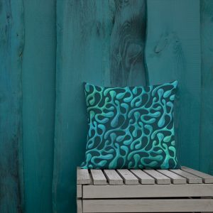Mint Matista Premium Pillow