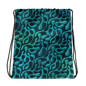 Mint Matista Drawstring bag